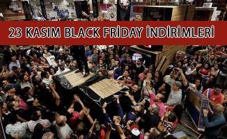 Black Friday Efsane Cuma İndirimleri! Cuma Günü İndirimli Mağaza ve Ürünler