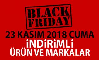 Black Friday Kara Cuma indirimleri ! Türkiye'deki 23 Kasım 2018 Kara Cuma indirimli ürün ve markalar