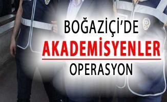 Boğaziçi Üniversitesinde Bazı Akademisyenlere Gözaltı