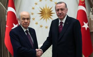 Cumhurbaşkanı Erdoğan ve MHP Lideri Bahçeli Görüşmesi Sona Erdi