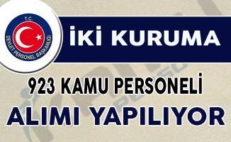 DİB ve MSB'ye 923 Kamu Personeli Alımı Yapılıyor
