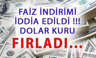 Faiz İndirimi İddiasının Ardından Dolar Fırladı ! Güncel Dolar ve Euro Fiyatları Kaç TL?