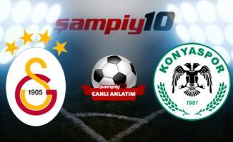 Galatasaray Konyaspor maçı Türk Telekom Stadı'nda oynanacak