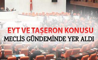 İYİ Parti Milletvekili Ağıralioğlu'ndan Meclis'te EYT ve Taşeron Açıklaması