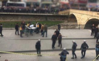 Kastamonu'da Dehşet! Şehrin Göbeğinde Ateş Açtı Bir Kişi Yaralandı!
