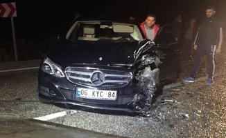 Konya-Hüyük yolunda feci kaza- 2 Kişi öldü