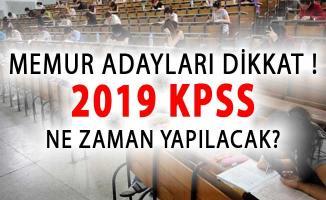 KPSS Alan Bilgisi ve ÖABT Ne Zaman Yapılacak? 2019 KPSS Sınav Tarihi