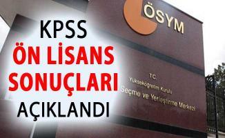 KPSS Ön Lisans Sonuçları ÖSYM Tarafından Açıklandı
