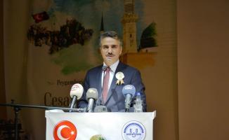"""Malatya Valisi Aydın Baruş """"Peygamber ve Gençlik"""" konulu konferansa katıldı"""