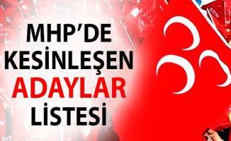 MHP Belediye Başkanı Aday listesi- Yerel seçimlerde MHP'nin adayları?