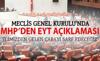 MHP'den Emeklilikte Yasa Takılanlar (EYT) Açıklaması! Kanun Teklifimiz TBMM Komisyonunda