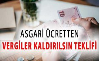TBMM'ye Önerge Verildi: Asgari Ücretten Vergiler Kaldırılsın