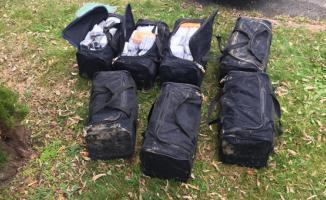 Tekirdağ Çorlu'da 7 bavul dolusu kaçak cep telefonu yakalandı
