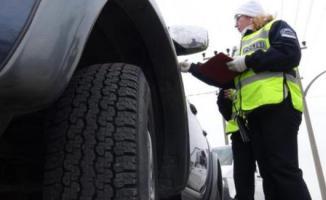 Zorunlu kış lastiği uygulaması bu tarihte başlıyor- Kış lastiği takmayalara kaç TL ceza yazılır?