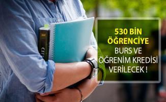 530 Bin Öğrenciye Burs ve Öğrenim Kredisi Verilecek!