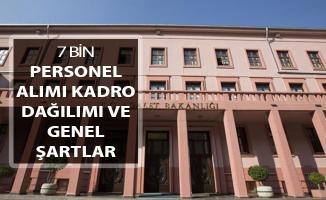 Adalet Bakanlığı 7 Bin Kamu Personeli Alımı ! Kadro Dağılımı ve Genel Şartlar