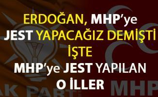 AKP hangi illerde MHP'ye JEST YAPTI