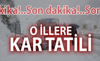 Ankara'da okullar tatil edildi! 14 Aralık hangi illerde okular kar tatili edildi? | Son dakika kar tatili haberleri