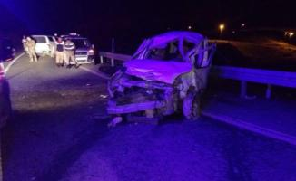 Batman Hasankeyf'de feci kazada 1 ölü 4 yaralı