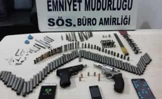 Bursa'da silah imalatı yapanlara operasyon yapıldı