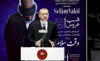 Cumhurbaşkanı Erdoğan Konya'da Spor ve Kongre Merkezi'nde konuştu