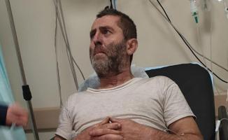 Düzce Yığılca'da 3 çocuğu yangında kaybeden Muhammed Korkmaz'a çocukların öldüğü söylenmedi