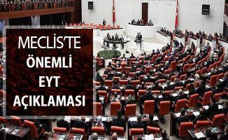 Emeklilikte Yaşa Takılanlar (EYT) Meclis'te Yeniden Gündeme Geldi