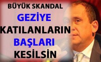 Erkan Tan'dan, Gezi eylemlerine katılanlar hakkında skandal sözler