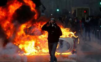 Fransa'daki protestolarda bin 723 kişi gözaltına alındı