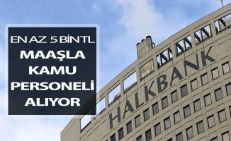 Halkbank En Az 5 Bin TL Maaş İle Kamu Personeli Alım İlanı Yayımlandı !