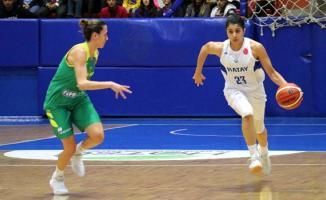 Hatay Büyükşehir Belediyespor, sahasında Sopron Basket'e 56-66 yenildi