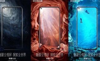 Honor View 20 cep telefonu ilk kez görüntülendi