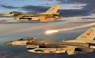 Irak'ın Gara ve Hakurk bölgelerine hava operasyonları düzenlendi