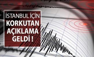 İstanbul İçin Korkutan Açıklama Yapıldı: 7'nin Üzerinde Şiddetle Deprem Bekleniyor