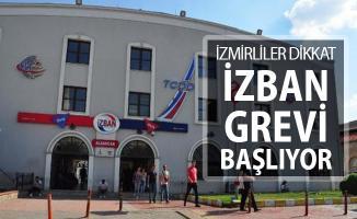 İZBAN Grevi Başlıyor ! Grev Kaç Gün Sürecek? İzmir'de Metro Seferleri Yapılıyor Mu?