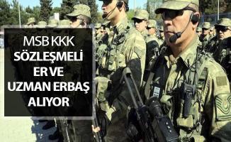 Kara Kuvvet Komutanlığı (KKK) Sözleşmeli Er ve Uzman Erbaş Alımı Yapıyor