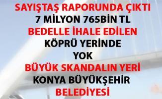 Konya Büyükşehir Belediyesin'de, Beyşehir Akyokuş Yaya Köprüsü Skandalı
