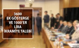 Memurlar Taleplerini İletti! 3600 Ek Gösterge ve Bayramlarda 1000'er Lira İkramiye