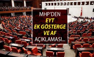 MHP'den Son Dakika! EYT, Ek Gösterge Ve Af Açıklaması Geldi!