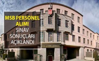 Milli Savunma Bakanlığı (MSB) Sözleşmeli Bilişim Personeli Sınav Sonuçları Açıklandı!