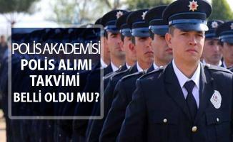 Polis Akademisi Polis Alımı Takvimi Belli Oldu Mu? PÖH - POMEM - PMYO