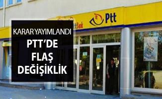 PTT Hisseleri Varlık Fonuna Devredildi !