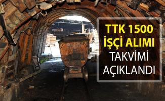 TTK 1500 İşçi Alımı Takvimi Belli Oldu!