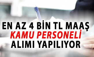 Türkiye Belediyeler Birliği En Az 4 Bin TL Maaşla Personel Alımı İçin İlan Yayımladı!