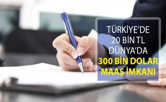 Türkiye'de 20 Bin TL Dünya'da 300 Bin Dolar Maaş Veriliyor! İşte Yapılacak İş ve Şartlar