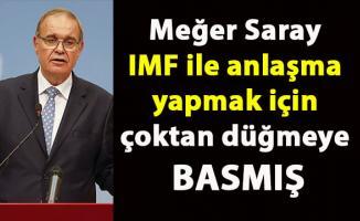 Türkiye IMF ile anlaşma mı yapıyor?