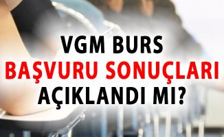 Vakıflar Genel Müdürlüğü (VGM) Burs Başvuru Sonuçları Açıklandı Mı?- vgm burs sonuçları 2018