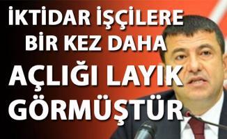 Veli Ağbaba, 2019 Asgari ücret hakkında iktidarı eleştirdi
