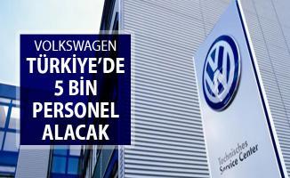 Volkswagen Türkiye'de  5 Bin Personel Alımı Yapacak !
