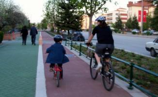 Yeni imar planlarında, bisiklet yolları ile bisiklet park  istasyonları zorunlu hale gelecek